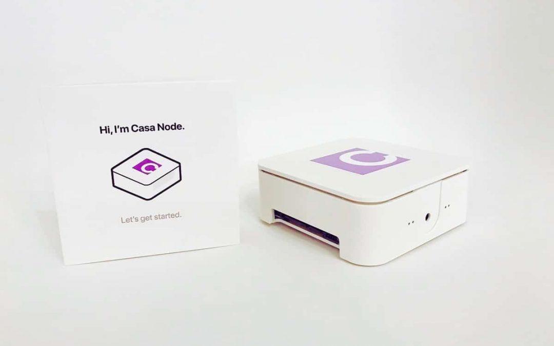 Casa Node Initialize & Router Config