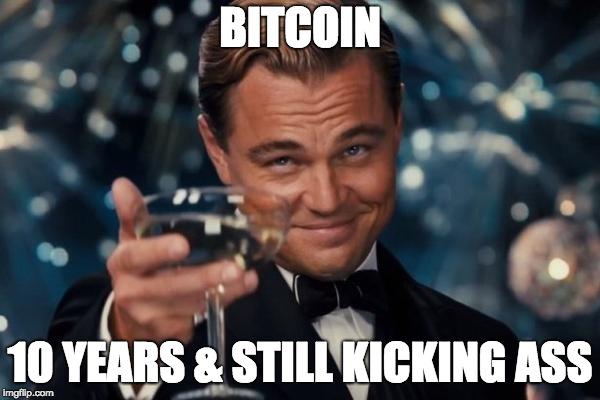 Happy Birthday Bitcoin, Looking Back on 10 Insane Years!