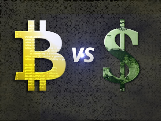 A Trust Model Comparison: Bitcoin vs. the Mighty Dollar