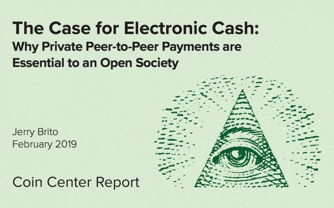The Case for Electronic Cash – Parts 1-3