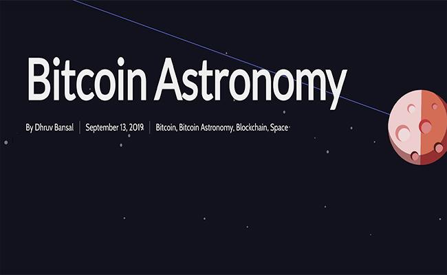 Bitcoin Astronomy – Part 1