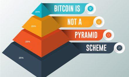 Bitcoin is Not a Pyramid Scheme