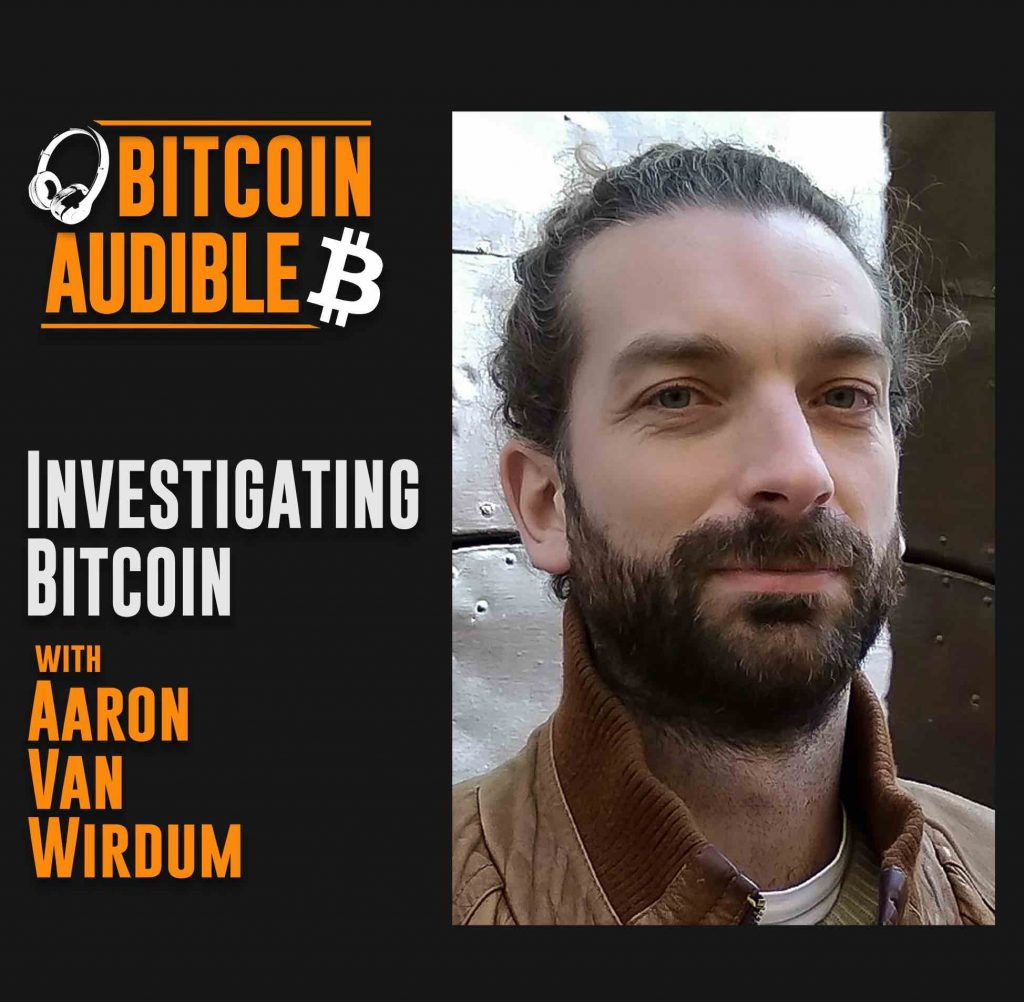 Chat_018 – Investigating Bitcoin with Aaron Van Wirdum [Cover image, small, 2-tone]