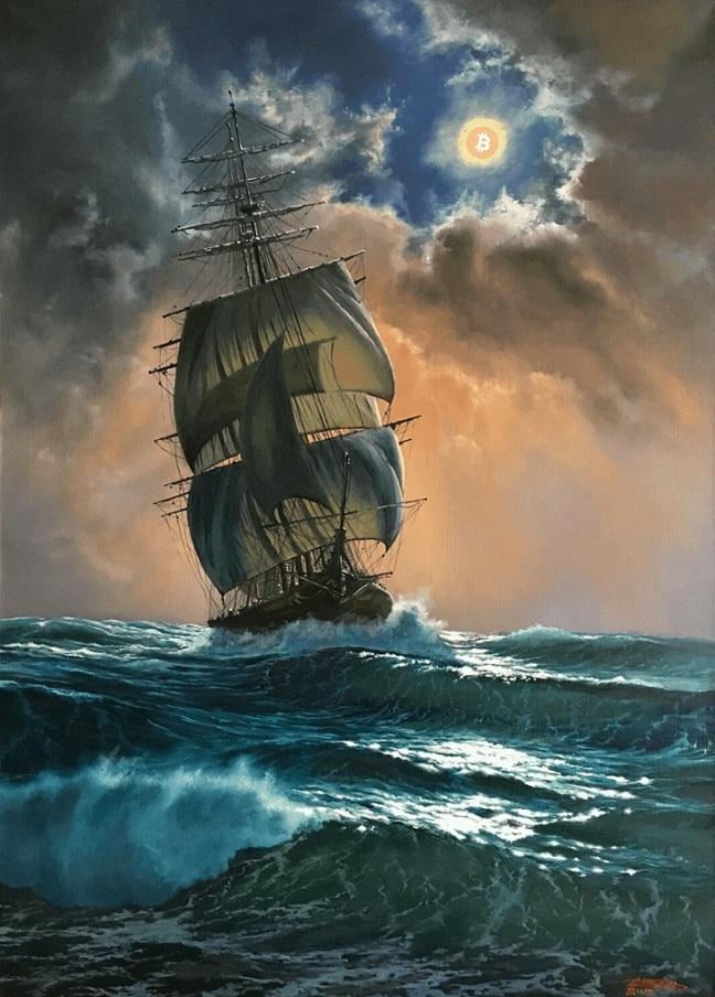 bitcoin_is_hope_ship_on_sea_bitcoin_sun
