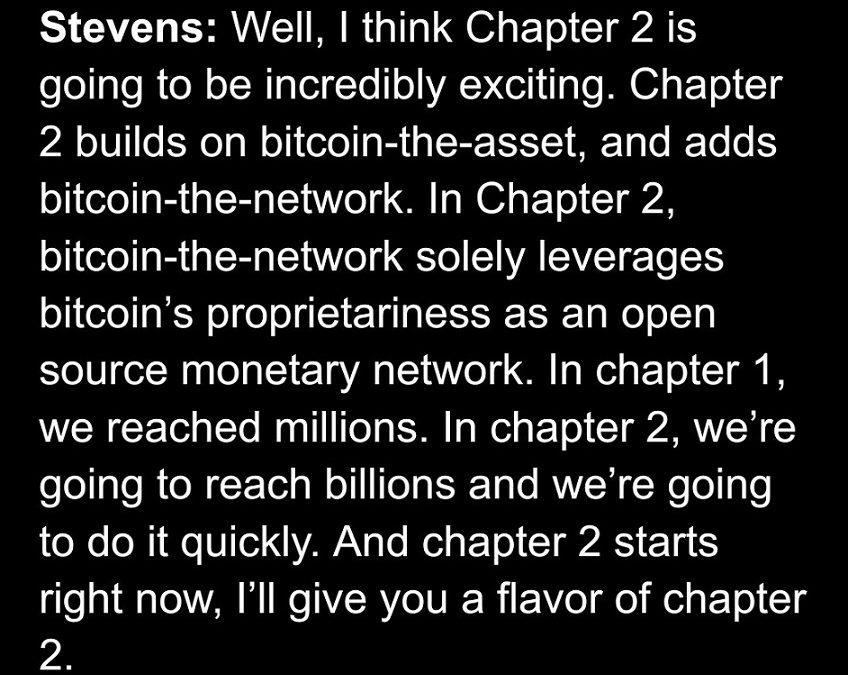 Guy's Take #42 – Bitcoin's Second Chapter Begins