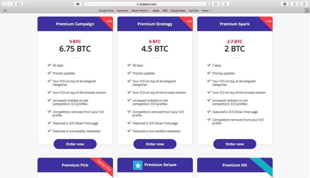 How Easy it is to Buy ICO Ratings